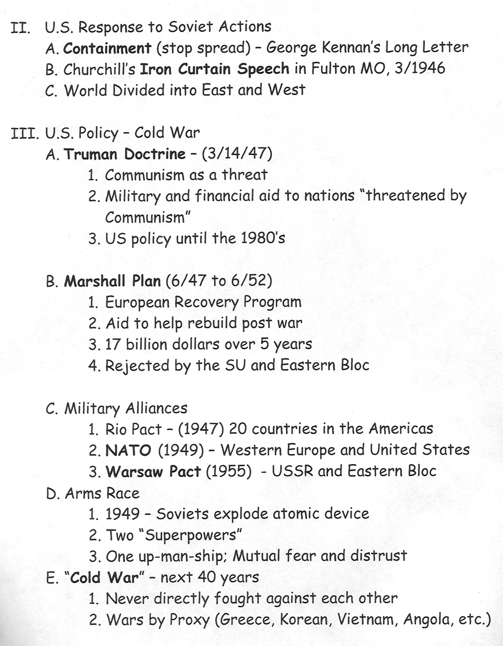 worksheet Korean War Worksheet chapter 17 cold war page2